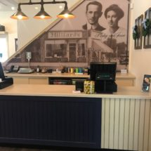 Hilliard's Candies_Norwell-cashwrap and wall mural